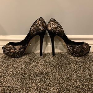 bebe Shoes - BeBe size 8 1/2 worn once platform heels
